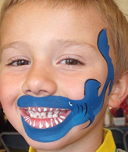 Shark: childrens birthday party, East Lothian